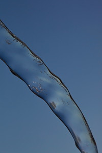 Istapp -  Close up of a single icicle