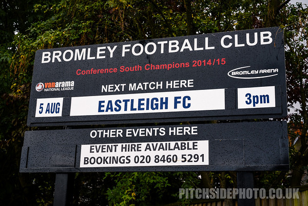 Bromley v Eastleigh - Vanarama National League