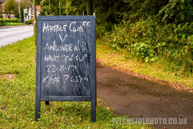 Hamble Club v Andover New Street - Hampshire Senior Cup