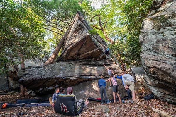 Climbing-Coopers-Rock-Adventure-WV-100