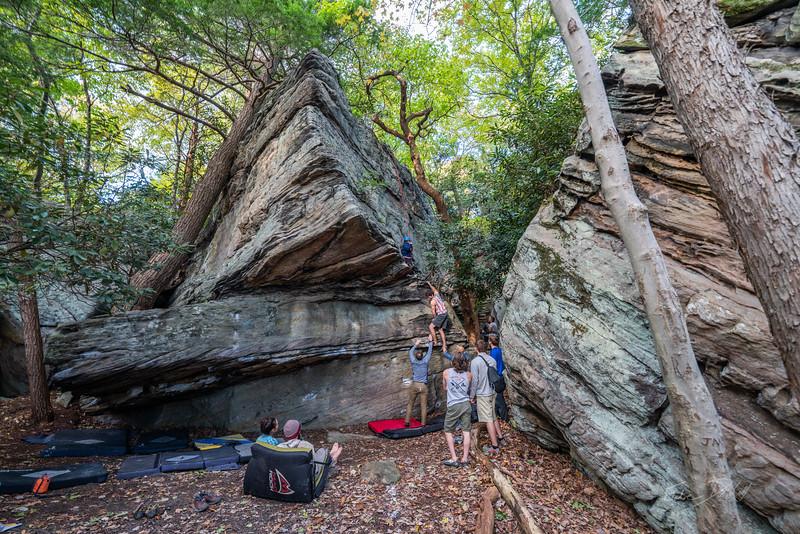 Climbing-Coopers-Rock-Adventure-WV-92