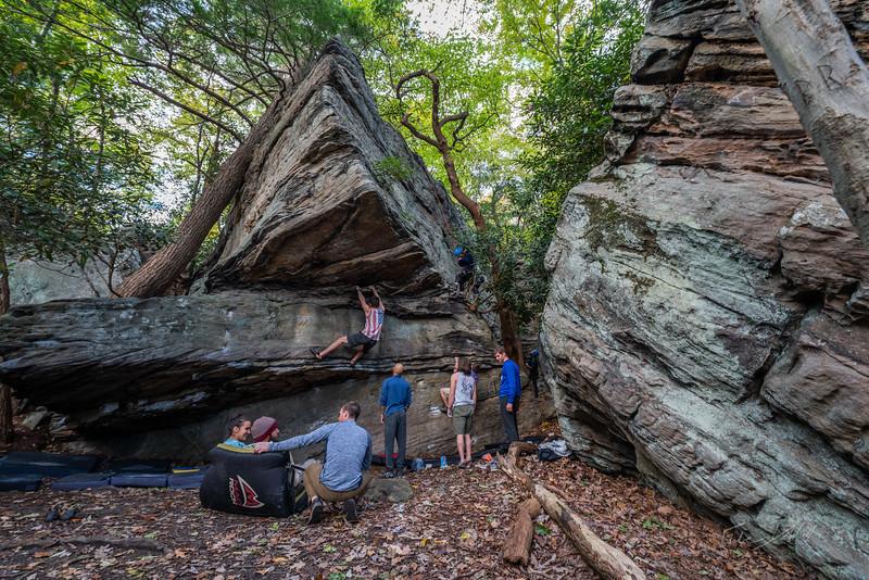 Climbing-Coopers-Rock-Adventure-WV-104