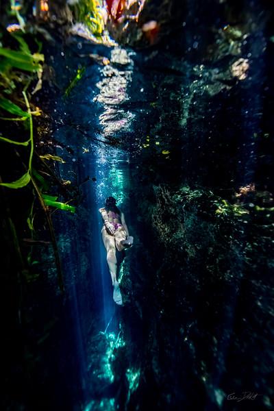 Cenote-Jardin-of-Eden-Mexico-Gabe-DeWitt-1957