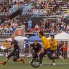 Minneapolis Sub Zero v San Francisco Revolver Men's Division Semifinals at 2018 USAU US Open International Club Championships at the National Sports Center in Blaine, Minnesota