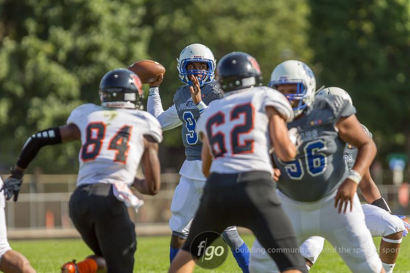 Minneapolis south Tigers v Minneapolis North Polars Football at North on 30 August 2018