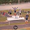Thursday Night Lights Track Velodrome Bike Racing at tthe National Sports Center in Blaine, Minnesota
