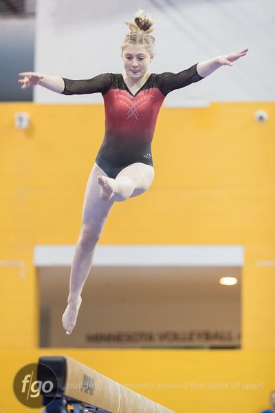 MSHSL Class AA State Gymnastics Meet - Balance Beam