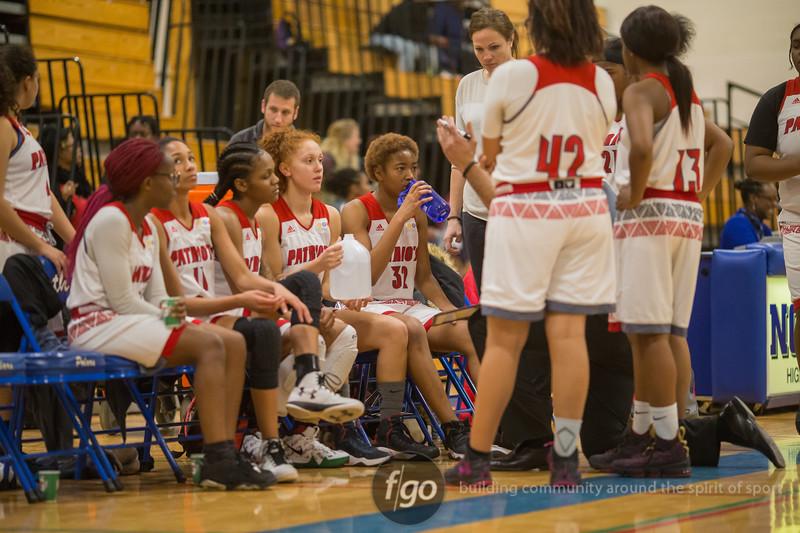 Minneapolis Patrick Henry Patriots v Minneapolis North Polars girls basketball at Minneapolis North on 17 January 2018
