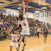 Minneapolis Patrick Henry Patriots v Minneapolis North Polars boys basketball at Minneapolis North on 18 January 2018
