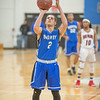 Eden Prairie Eagles v Minneapolis North Polars boys basketball at Minneapolis North on 3 January 2018