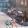 2018 Loppet Festival Skate Ski Sprints on Nicollet Mall on 31 January 2018