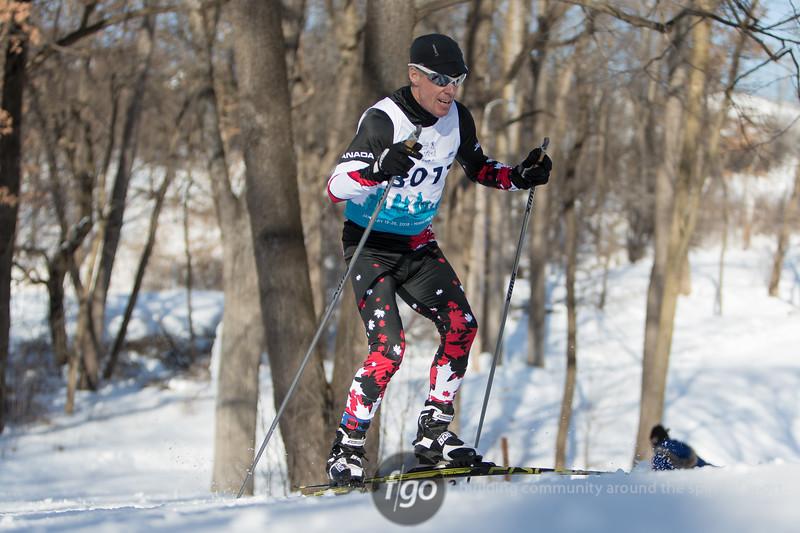 Masters World Cup Nordic Ski Races at Theodore Wirth Park on 26 January 2018 - Skate Ski Marathons