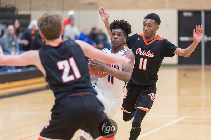 Minneapolis Washburn Millers at St. Louis Park Orioles Minnesota State High School League Boys Basketball Section 6AAAA quarterfinals