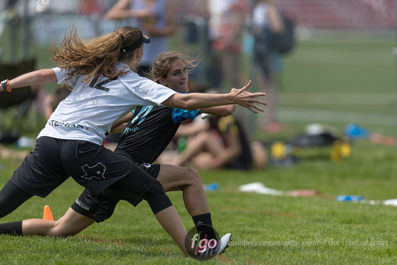 2018 USA Ultimate D1 College Championships day 1 games at Uihlein Park in Milwaukee, Wisconsin
