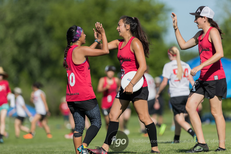 2018 USA Ultimate D1 College Championship Finals at Uhlein Soccer Park in Milwaukee, Wisconsin - Day 2 - Stanford Superfly v Ohio State Fever