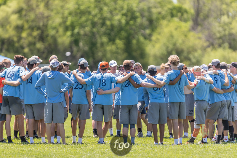 2018 USA Ultimate D1 College Championship Finals at Uhlein Soccer Park in Milwaukee, Wisconsin - Day 2 - Carleton CUT v Auburn Aetos