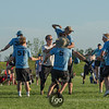 2018 USA Ultimate D1 College Championship Finals at Uhlein Soccer Park in Milwaukee, Wisconsin - Day 2 - Wisconsin Hodags v Minnesota Grey Duck