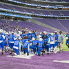 Minnesota State High School League 2018 State AA Football Championships Semifinal - Minneapolis North Polars v Barnesville High School Trojans on November 16, 2018 at US Bank Stadium in Minneapolis, Minnesota