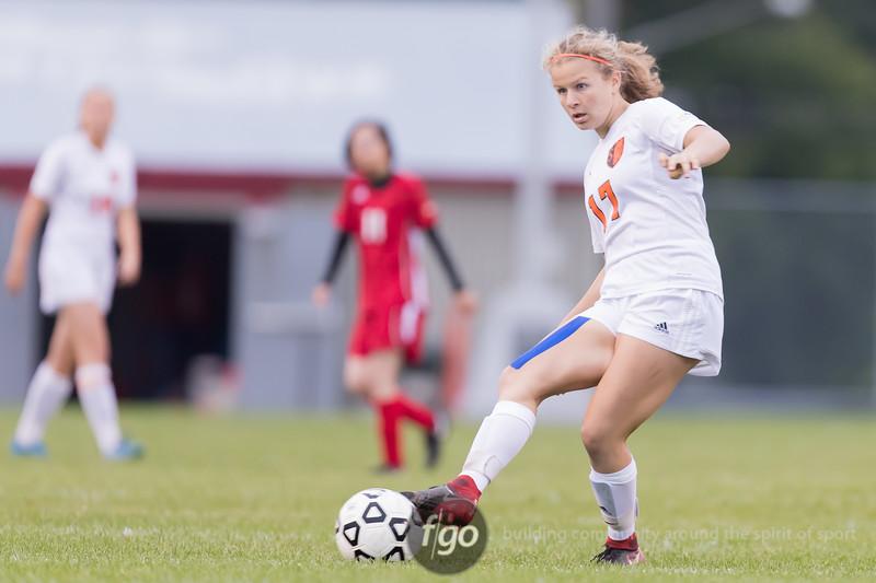 Minneapolis South v Minneapolis Patrick Henry Girls Soccer at Henry on 2 October 2018