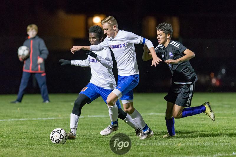 Minneapolis Washburn v Minneapolis Southwest Boys Soccer at Southwest on 4 October 2018
