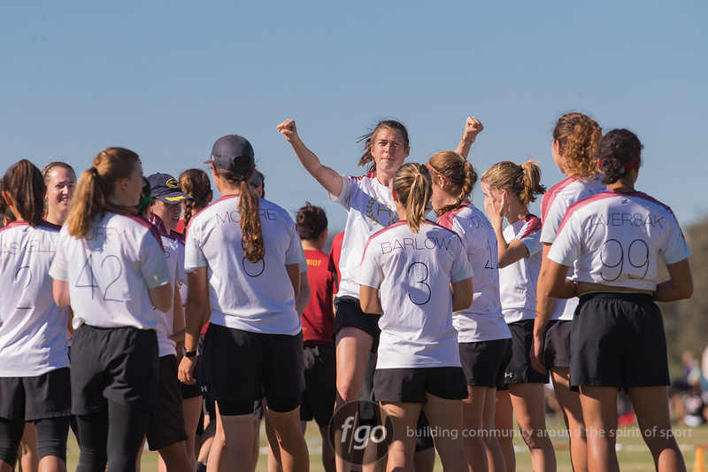 USAU National Championships in Del Mar, California 18 October 2018 - Women's Division Seattle Riot v Columbus Rival