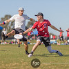 Austin Doublewide v Denver Johnny Bravo at 2018 USA Ultimate Nationals