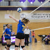 Minneapolis Edison v Minneapolis Southwest Volleyball at Southwest on 17 September 2018