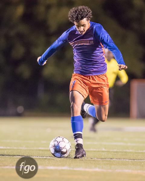 Minneapolis Edison v Minneapolis Washburn Soccer at Washburn on 25 September 2018