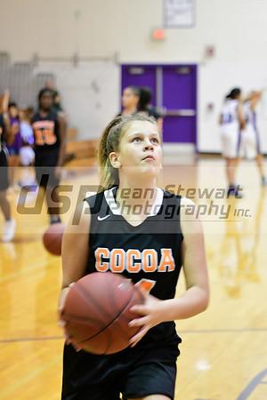 Girls Middle School Basketball 10.10.19