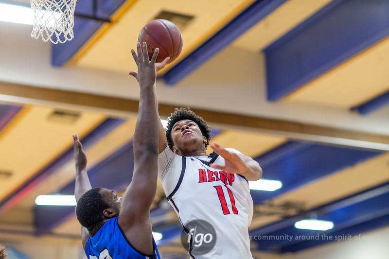 Minneapolis North v Minneapolis Patrick Henry Boys Basketball at North on December 14, 2019