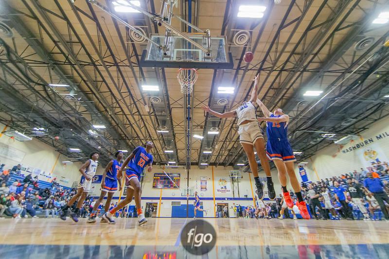 Minneapolis North v Minneapolis Washburn Boys Basketball at North on December 16, 2019