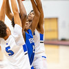 TCO Holiday Classic Basketball Tournament at Augsburg University in Minneapolis, Minnesota on December 30, 2019: Championship Final between Minneapolis North and Hopkins High School