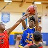 Minnesota Transitions Charter v Minneapolis Edison Boys Basketball at Minneapolis Edison on December 4, 2019