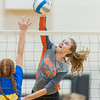 Minneapolis Edison v Minneapolis South Volleyball at South on September 24, 2019