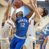 Minnehaha Academy Redhawks at Minneapolis North Polars Boys Basketball on February 19, 2019