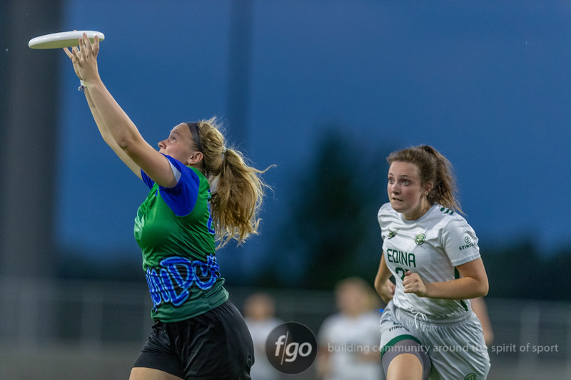 Edina v Eagan, Girls Division Minnesota High School Ultimate State Championships at TCO Stadium in Eagan, Minnesota on June 5, 2019