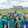 Edina v Eagan, Girls Division Minnesota High School Ultimate State Championships at TCO Stadium in Eagan, Minnesota on June 5, 2019