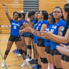 Minneapolis Roosevelt v Minneapolis North Volleyball at North on October 3, 2019