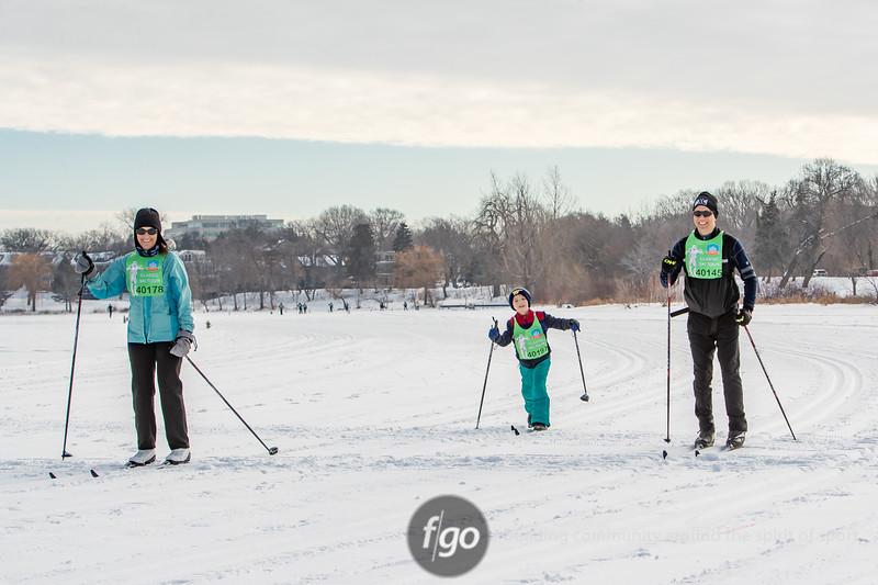2020 Loppet Festival  Saturday Morning Classic Ski Starts at Bde Maka Ska and Lake of the Isles