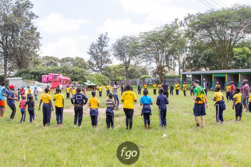 Friends of Ngong Road 2020 Kenya Visit - day 3 - Saturday Program - Introduction to Ultimate