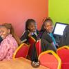 Sponsors visit NRCF's Comuter Lab