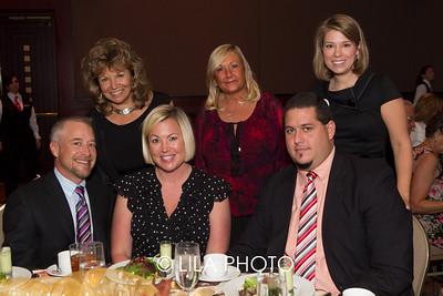 Hannah & Pepe Sosa (front row) Sharon Quercioli, Denise Jumbert, Katie Gamble (back row)