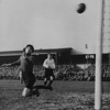 <CENTER>Tony Gallego and Bill Harmer in FA Cup 1st Round action at Swindon in November 1946</CENTER>