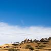 Hilltop village of the Bilen ethnic group in northern Eritrea.