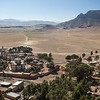 Looking down towards the town of Senefe from the Metera religious site in southern Eritrea.