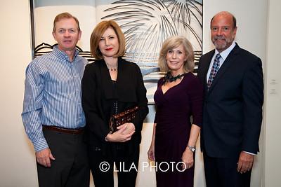 Mart & Adrienne Thomas, Susan & Senator Frank Watson