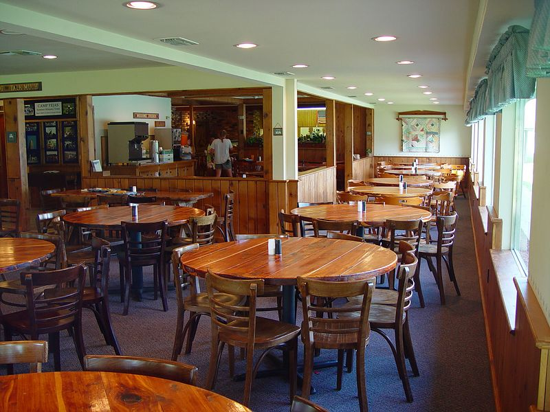 Inside of Dining Hall