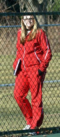 WARREN DILLAWAY / Star Beacon<br /> RENEE MATTSON is the new boys tennis coach at Edgewood.