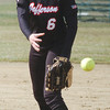 WARREN DILLAWAY / Star Beacon<br /> MCKENZIE WILBER of Jefferson pitches on Monday during a home game with Lakeside.