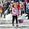 WARREN DILLAWAY / Star Beacon<br /> CHILDREN DASH dash for eggs on Saturday during the Lake Shore Park Easter Egg Hunt in Ashtabula Township.
